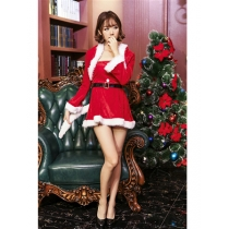 2017 Women Sexy Christmas fany dress