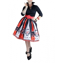 new  style halloween costume sexy skirt colorful skirt m88062