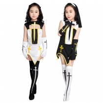 Children Halloween game uniform role playing nun costume uniform temptation M40645