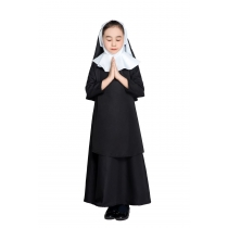 2019 new design children  woman dress uniform for costume carnival costume nun uniformM40646