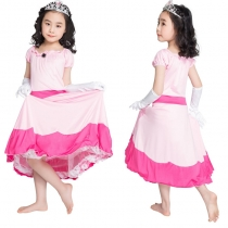Children Cosplay Pink Princess Costume M40642