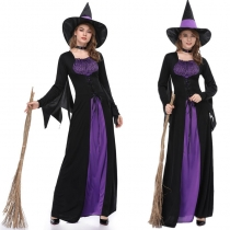 Medieval Adult Cosplay Witch Gothic Queen Costume m40526