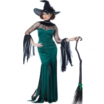 Halloween Deluxe Queen Witch Costume
