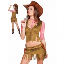 Halloween Party Cowgirl Costume