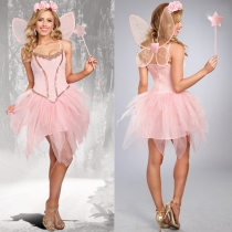 Pink Tinkerbell Fairy Costume m40574