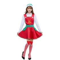 Christmas Female Cosplay Adult Long Sleeve Dress Maid M1189