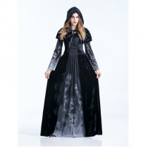 Gothic Black Cosplay Death Costumes M40477