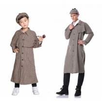 Detective Costumes Sherlock Holmes Cosplay  M40743