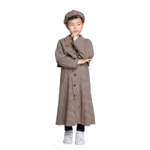Kids Detective Cosplay  Costumes Sherlock Holmes Cosplay M40742