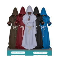 Hooded Monk Robe Costume M40505