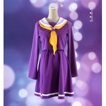 No Game No Life Shiro Emboitement Heroine Purple Sailor Suit M40518