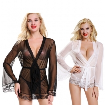 Sexy Erotic See Through Lace Babydoll M2115