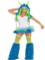 Three Eyed Monster Costume M4807