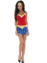 sexy super girl costume m4577