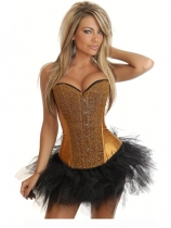 sexy arabesquitic corset with bubble skirt m1846E