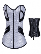 silver hot sale corset m1240d