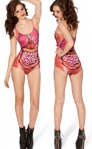 hot sexy lady one-piece swimsuit  M5265