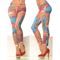 Seamless Tattoo Leggings trousers FG9074