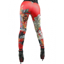 Seamless Tattoo Leggings trousers FG001R