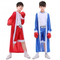 Boys Boxer Cosplay Halloween Party Clothing M40641