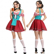 Germany Bavari Traditional Oktoberfest Beer Girl Dress Up m40680