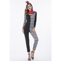 2017 Women Plaid Clothing Halloween Costumes Cosplay M40363