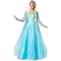 M-XL Frozen Elsa Adult Costume M40036