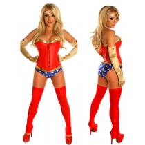 2017 Adult Women Superwomen Costumes M40301