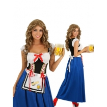 Germany Oktoberfest Cosplay Costume S-XL