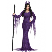 Sexy Purple OX Queen Costume M40269