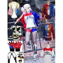 "Movie ""Suicide Squad"" Harley·Quinn Cosplay Costume M40280"