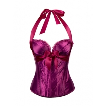 Comfotable Green /Wine Red  Sweetheart Halter Corset  M1298b