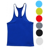 Gym Stringer Tank Top Men Bodybuilding Clothing Sport Vest M6100