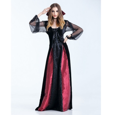 The Queen Cosplay Gothic Vampire Outfit M40471