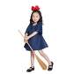 Kikis Delivery Service Kids Halloween Cosplay Costume M40635