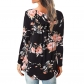 Ladies Casual Floral Printing Blouse M5602