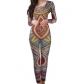 Sexy Colorful Women Pattern Jumpsuit M30137